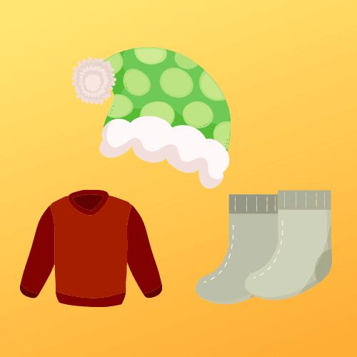 Warm cloth